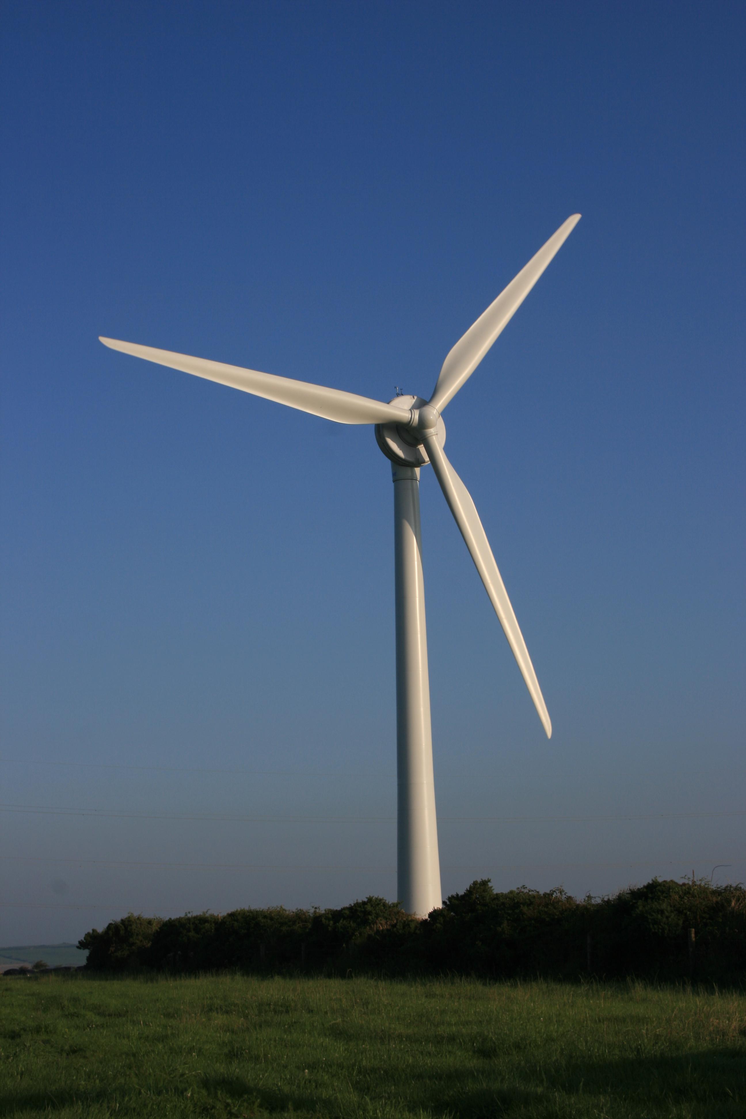 Old Whittington Wind Turbine Generator Peter Duffy Ltd Civil